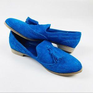Dolce Vita DV 7.5 M Blue Tassle Loafers
